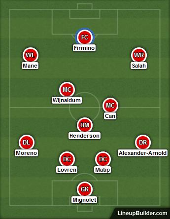 Hoffenheim v Liverpool - 15th August 2017